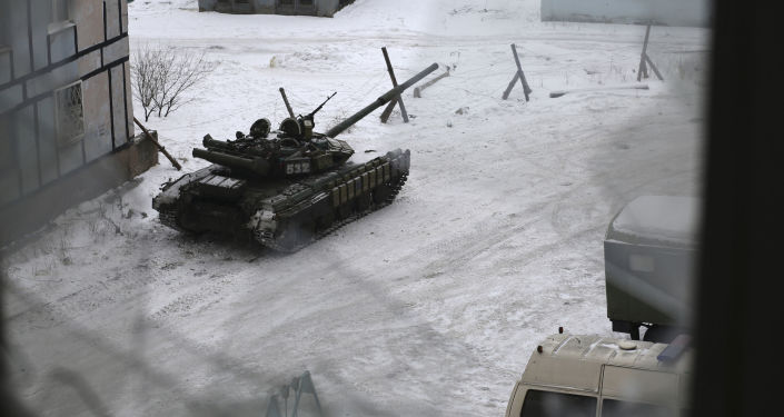 Tank v Avdějevce