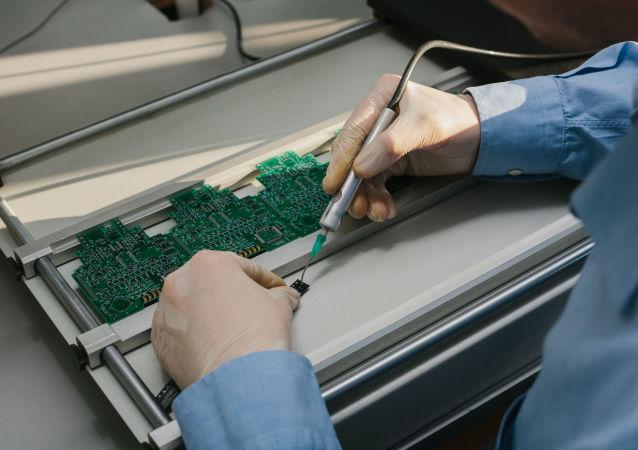 Výroba mikročipů