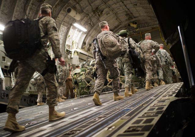 Američtí vojáci v Iráku
