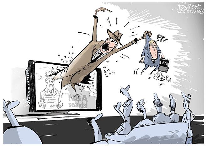Kauza FIFA:  odváděcí manévr?