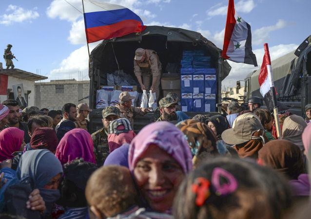 Humanitární pomoc  Syřanům