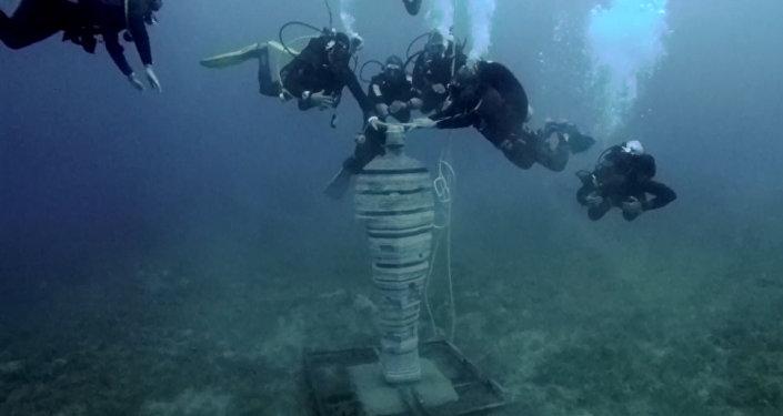 Podvodní muzeum v Egyptě