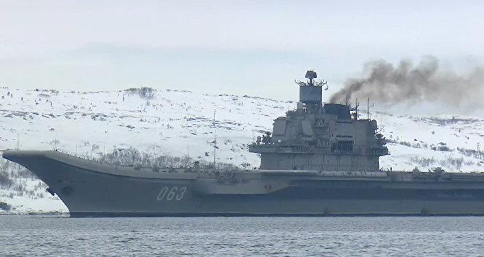Slavnostní přivítání Admirála Kuzněcova v Severomorsku