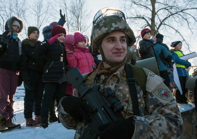 Lotyšský voják