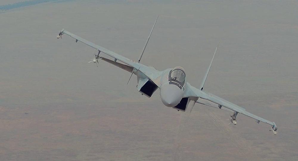 Moderní stíhačka Su-35S byla zařazena do výzbroje ruských VKS
