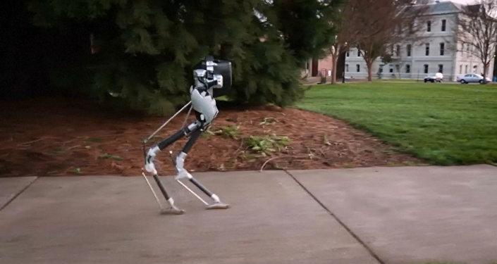 Američtí vědci vytvořili chodícího robota
