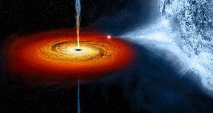 Černá díra Cygnus X-1