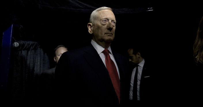 Ministr obrany James Mattis