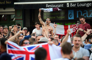 Britští fanoušky