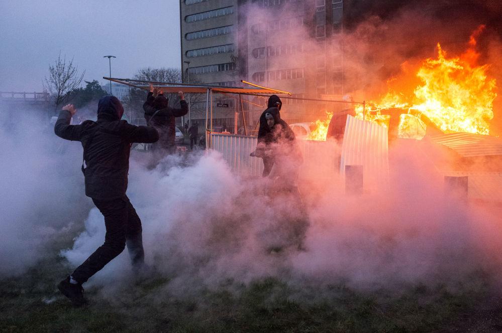 Protesty proti policejnímu násilí ve Francii