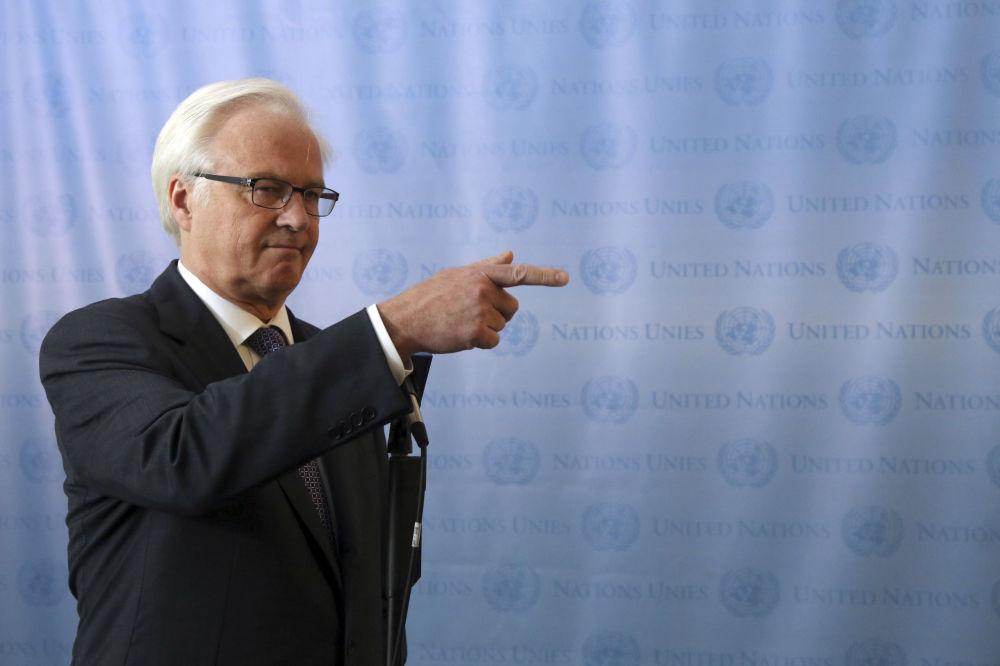 Maestro diplomacie Vitalij Čurkin