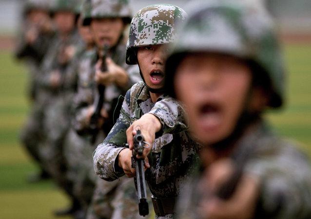 Čínští vojáci