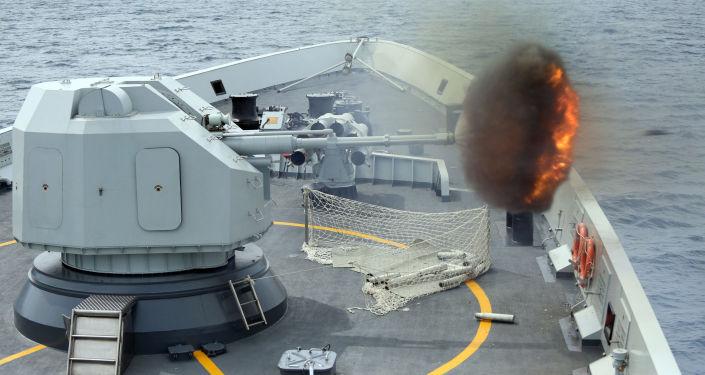 Čínská válečná loď