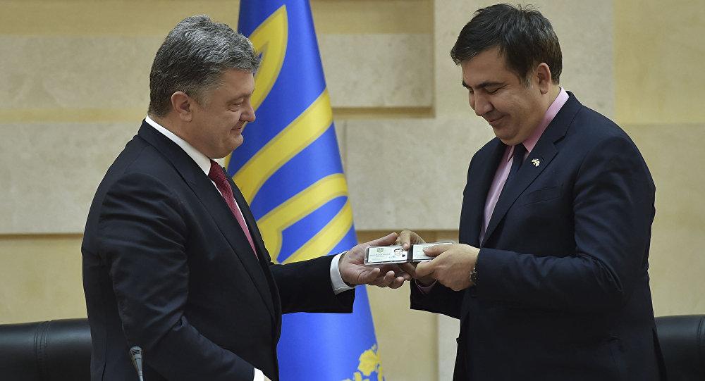 Petro Porošenko jmenoval Michaila Saakašviliho gubernátorem Oděské oblasti