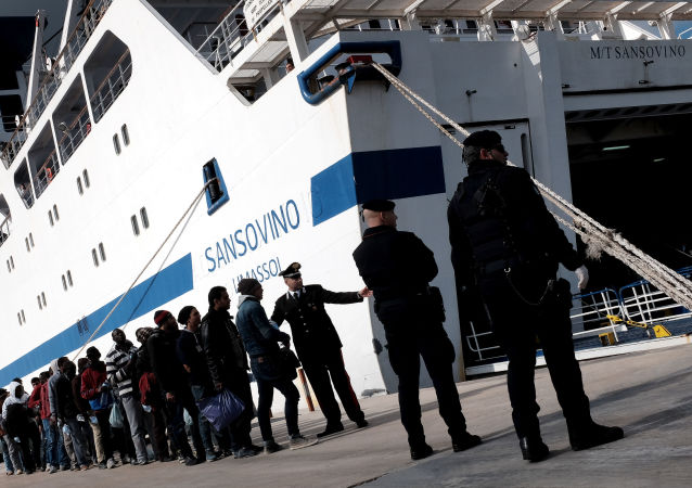 Migranti na Lampeduse