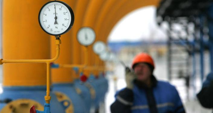 Plynová stanice v Bělorusku