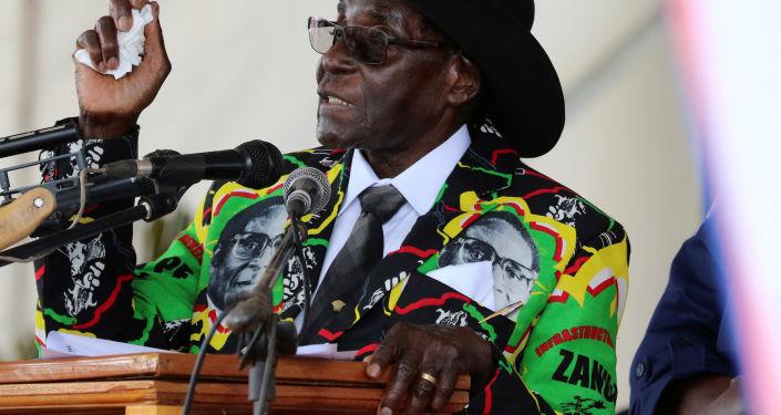 Prezident Zimbabwe Robert Mugabe
