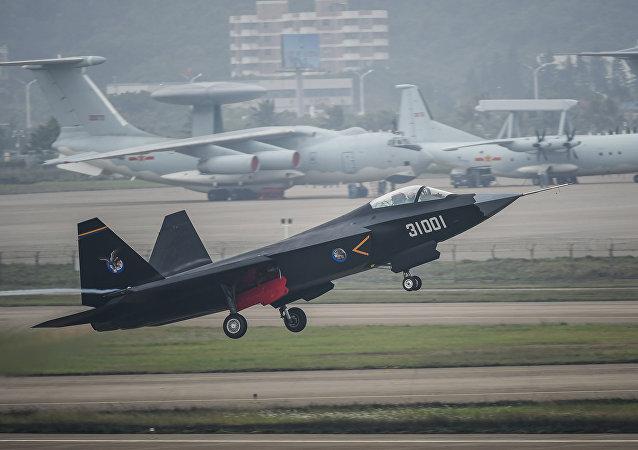 Čínská stíhačka FC-31