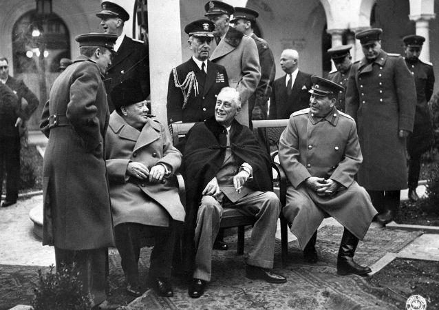 Jaltská konference r. 1945