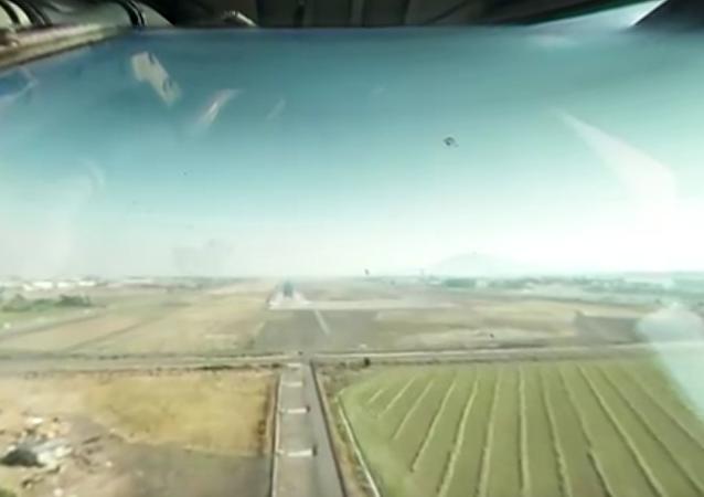Video 360: Ruský letoun pomáhá v boji s nejdivočejšími požáry v Chile