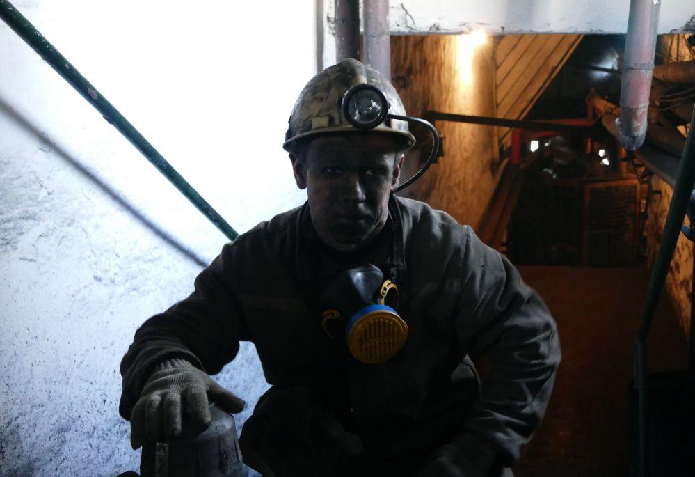 Důl Makejevugol v Doněcké oblasti