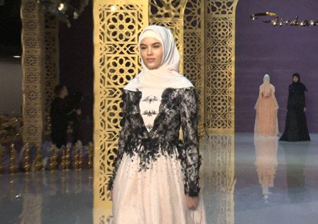 Módní kolekce designérky Ajšat Kadyrovové