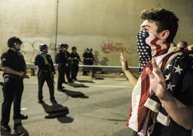 Protestní akce v USA