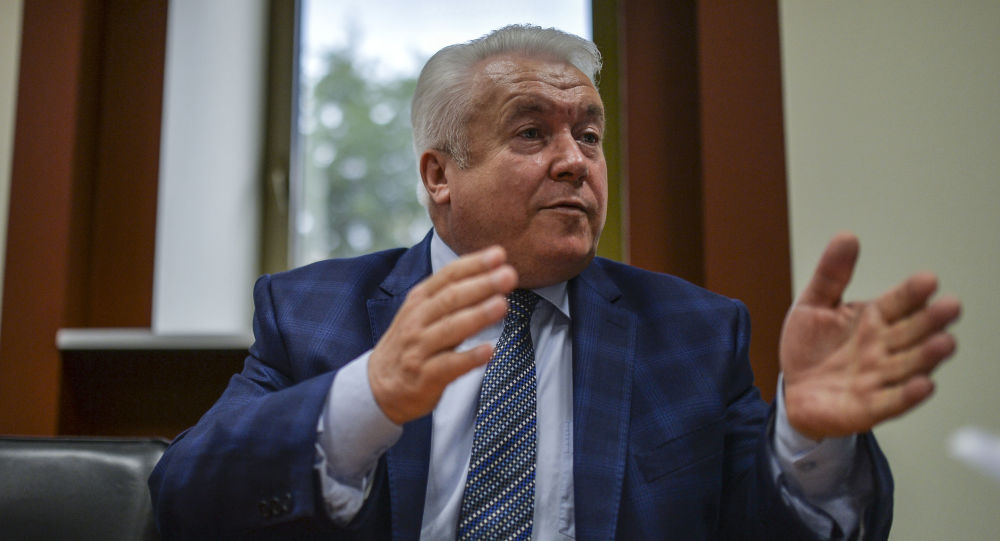 Bývalý poslanec Nejvyšší rady Vladimir Olejnik