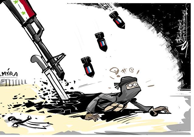 Osvobození Palmýry od ISIL