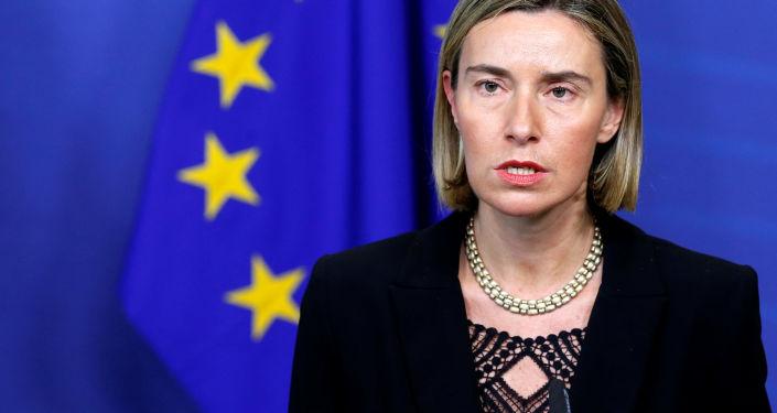 Šéfka diplomacie Evropské unie Federica Mogheriniová