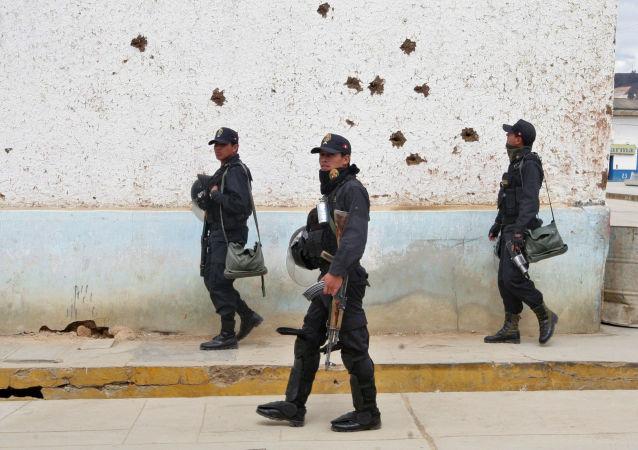 Peruánská policie