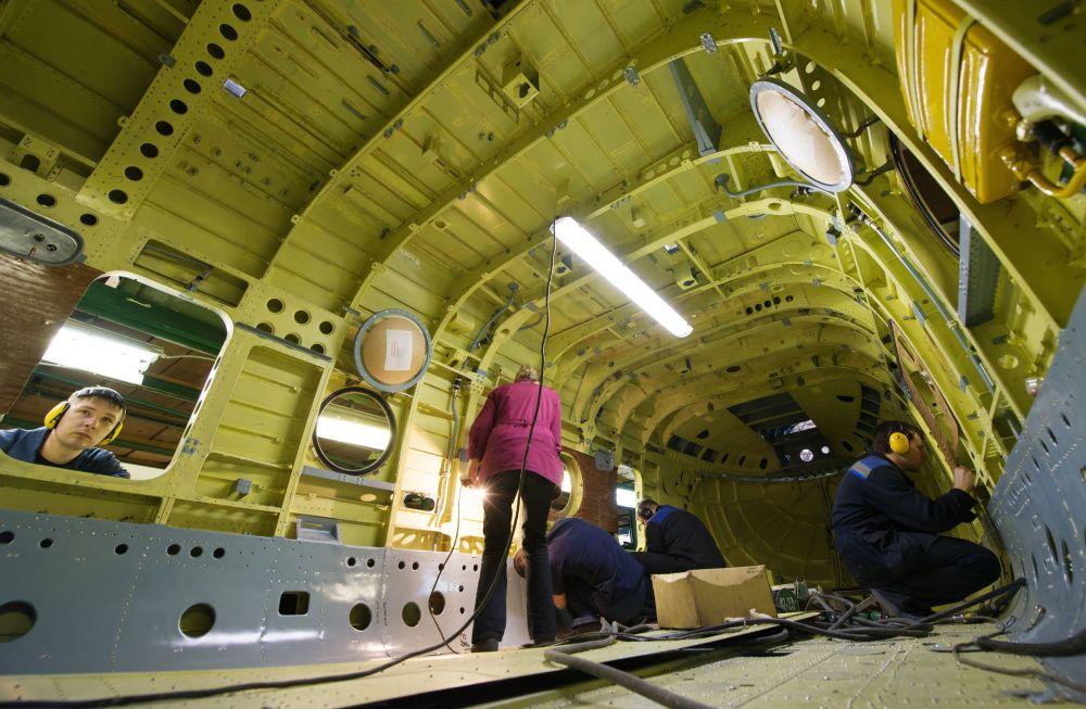 Výroba vrtulníků v Rusku