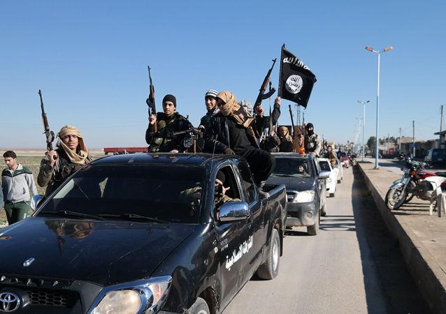 Členové teroristické organizace Islámský stát