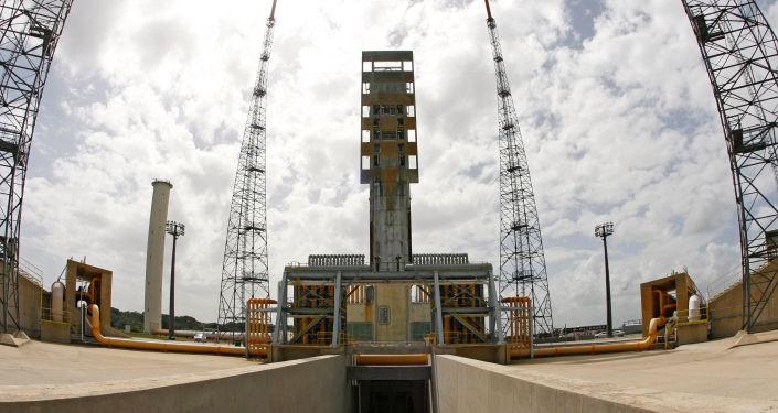 Kosmodrom Courou ve Francouzské Guyaně