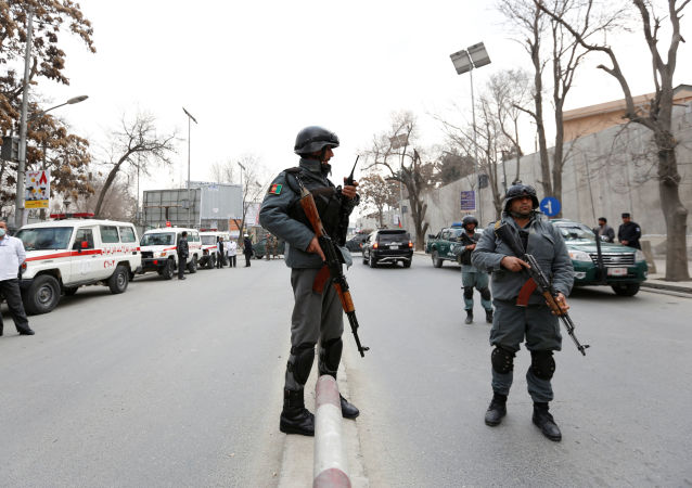 Policie v Kabulu