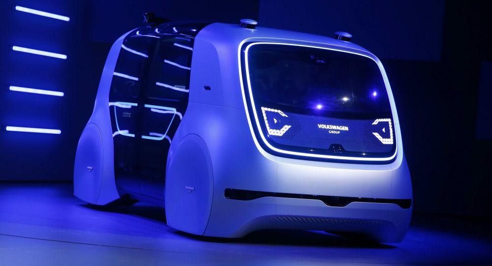 Bezpilotní elektromobil Volkswagen