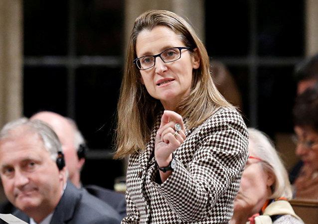 Ministryně zahraničí Kanady Chrystia Freelandová