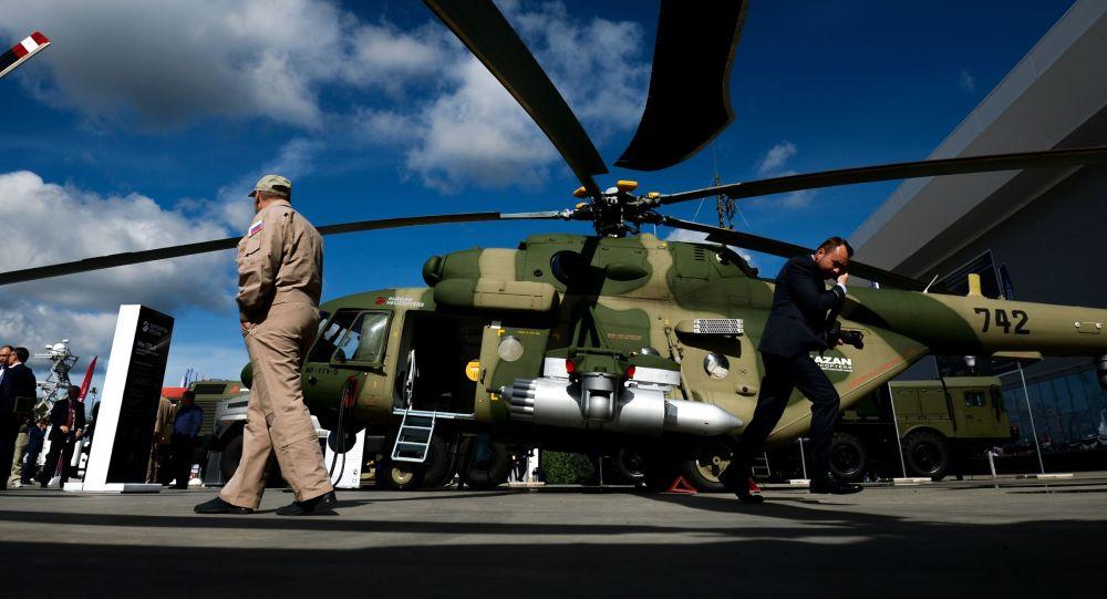 Vrtilník Mi-17B-5