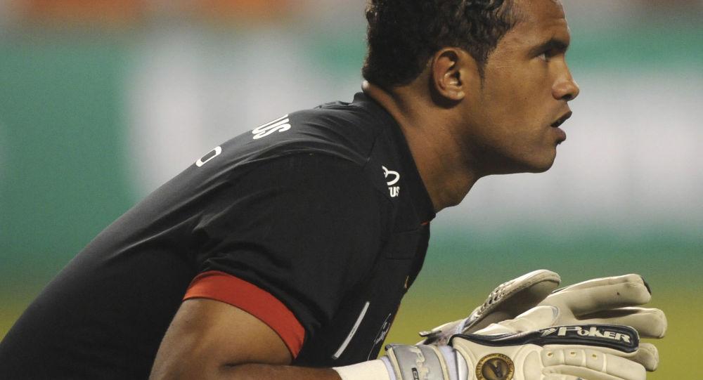 Brazilský fotbalista Bruno Fernandes