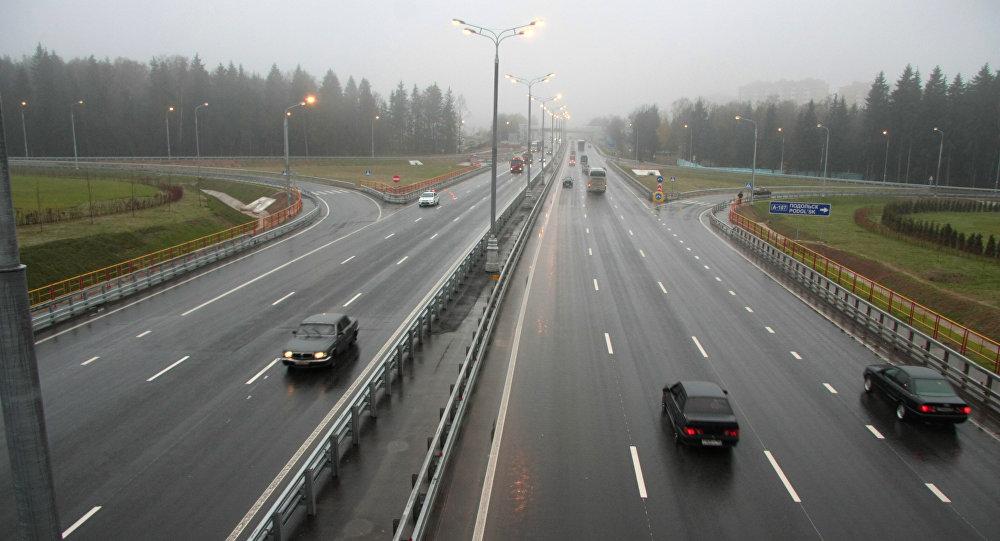 Úsek dálnice. Ilustrační foto