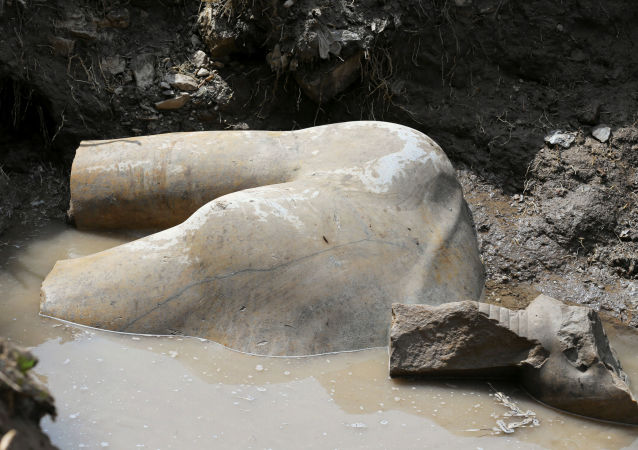 Fragment sochy Ramesse II.