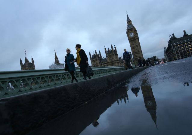 Britský parlament v Londýně