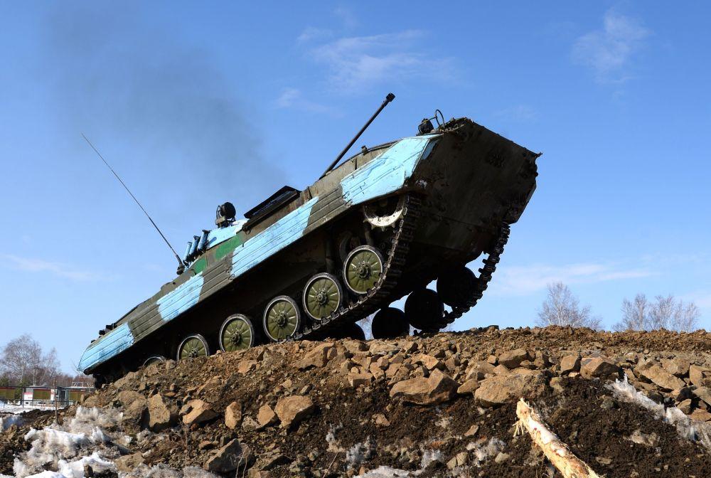 Tankový biatlon v Chabarovském kraji