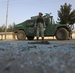 Policie v Kábulu