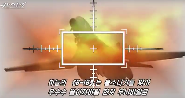 V Severní Korei natočili video o zničení letadlové lodi USA