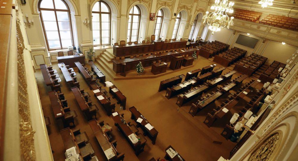 Český parlament v Praze. Ilustrační foto