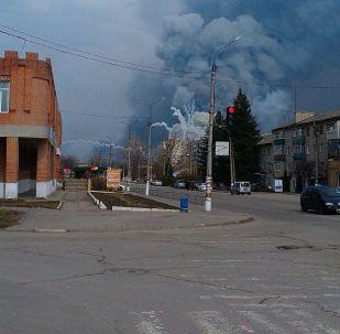 Požár v Balakliji