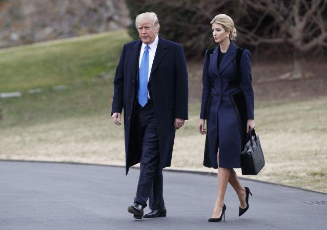 Donald Trump a Ivanka Trumpová