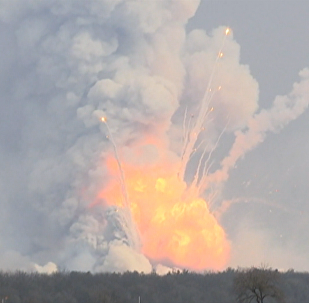 v Charkovské oblasti pokračuje požár