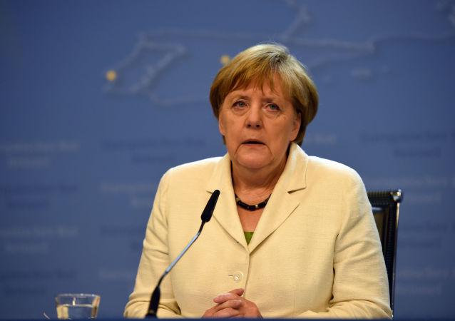 Spolková kancléřka Angela Merkelová